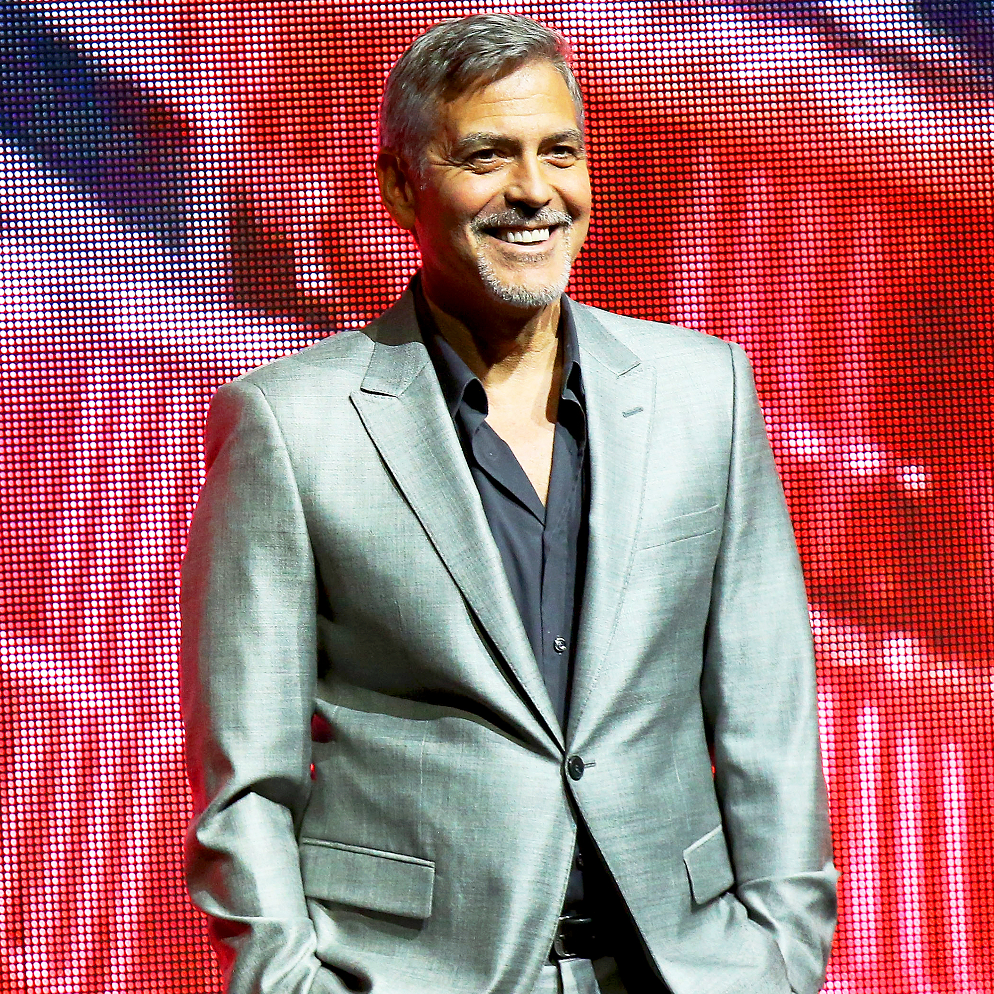 George Clooney Talks \'Terrifying\' Fatherhood, Cleaning Up Barf