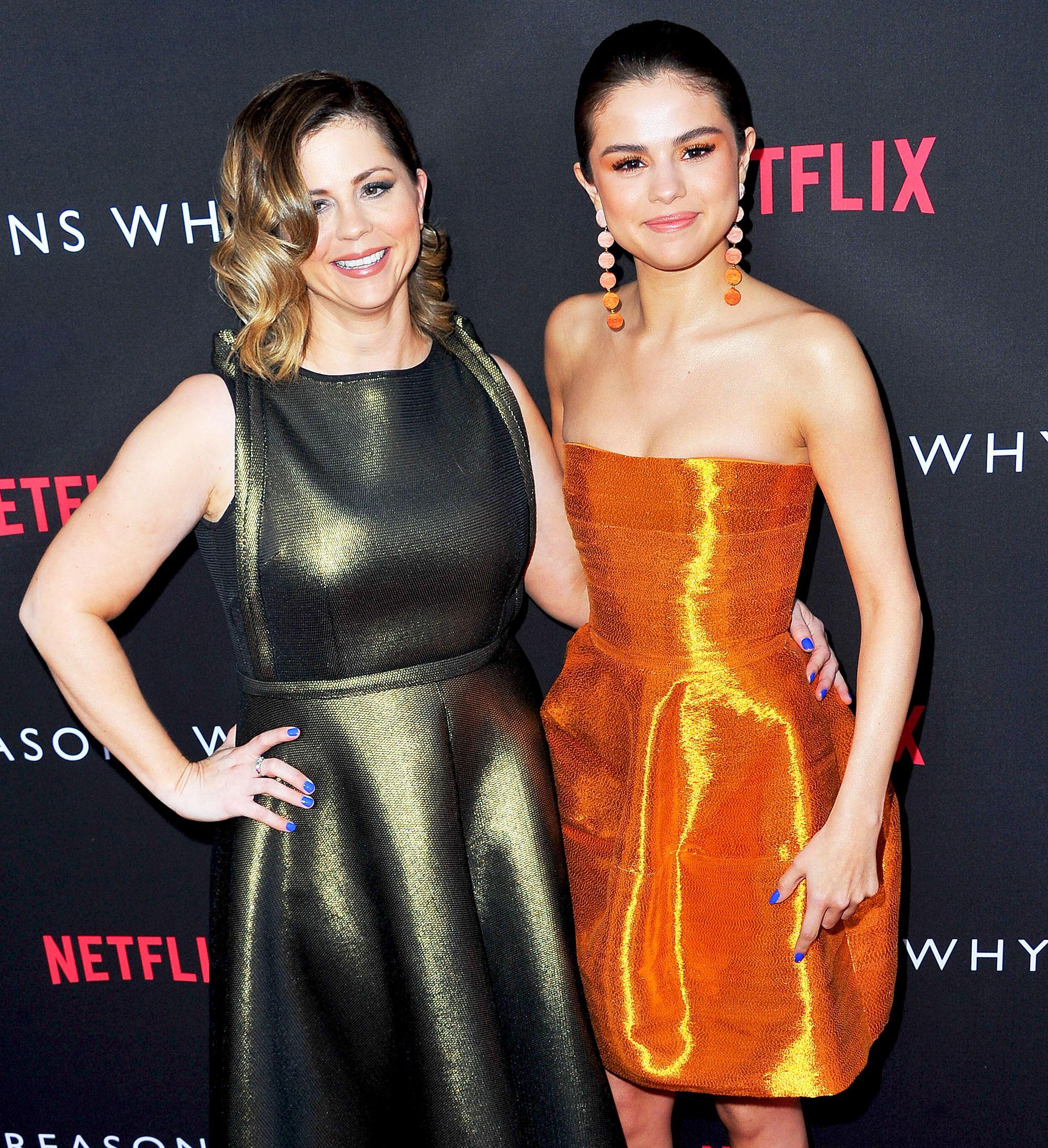 Selena Gomez and Mandy Teefey