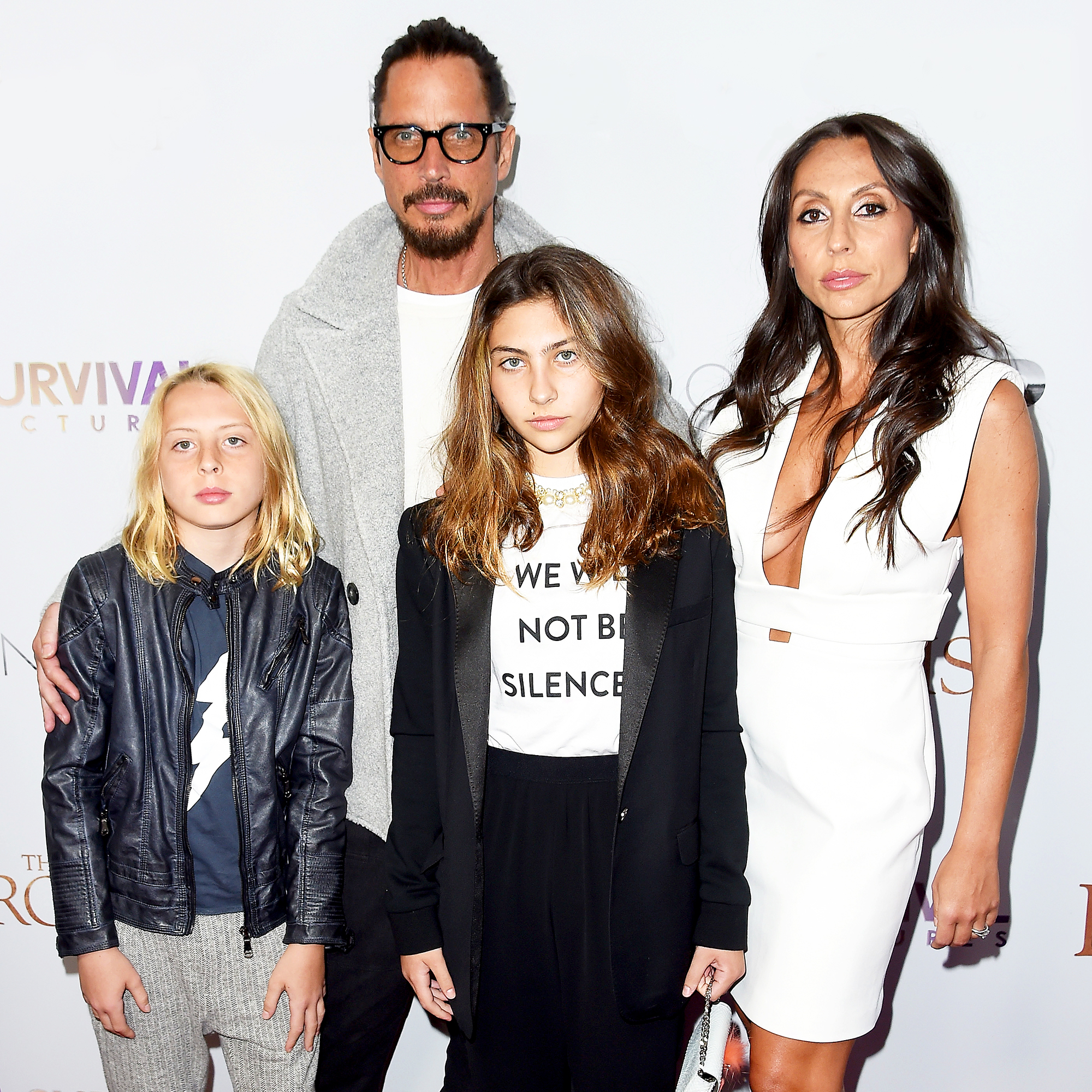 Chris Cornell, Vicky, Christopher and Toni