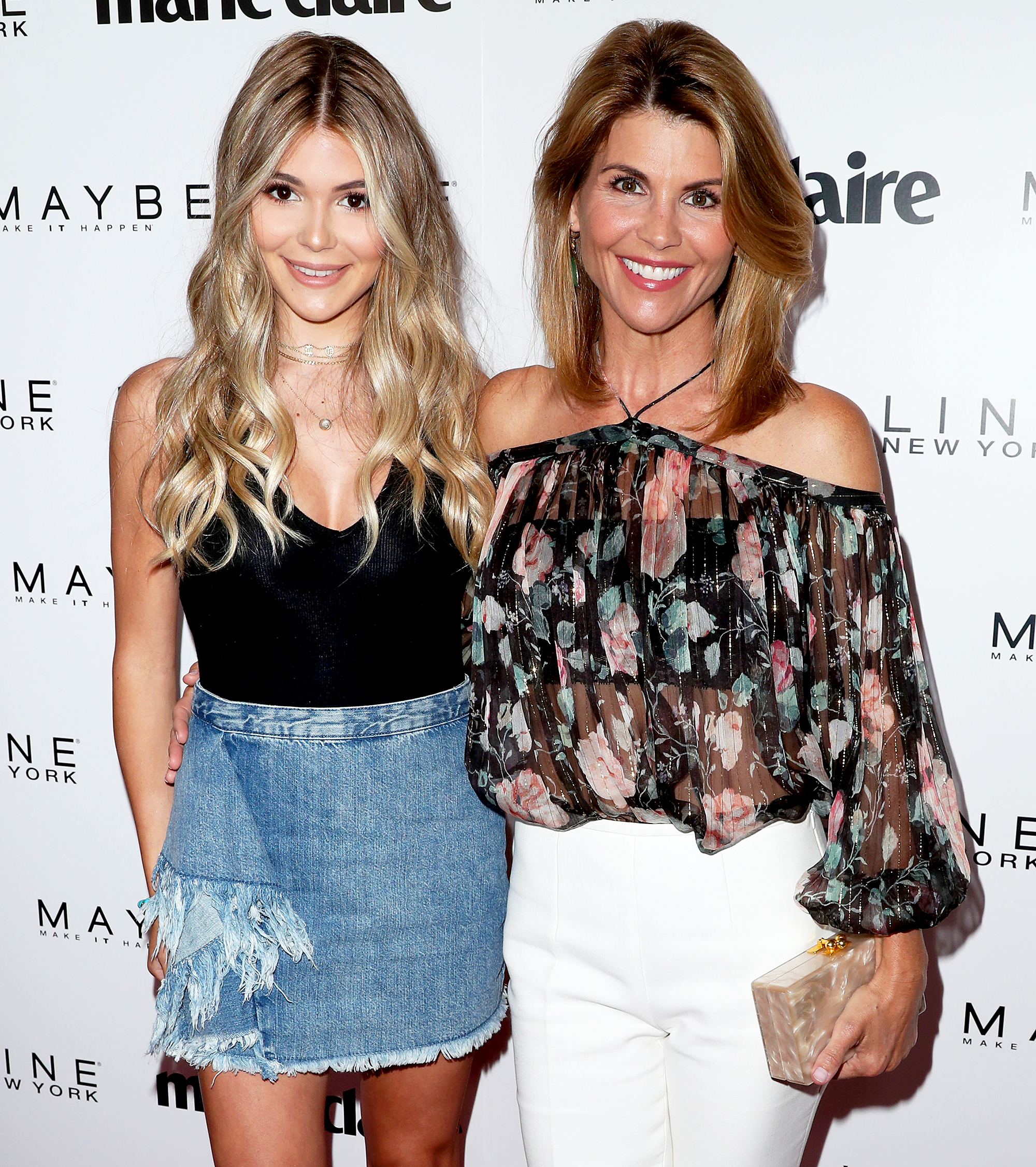 Lori Loughlin and Olivia Jade