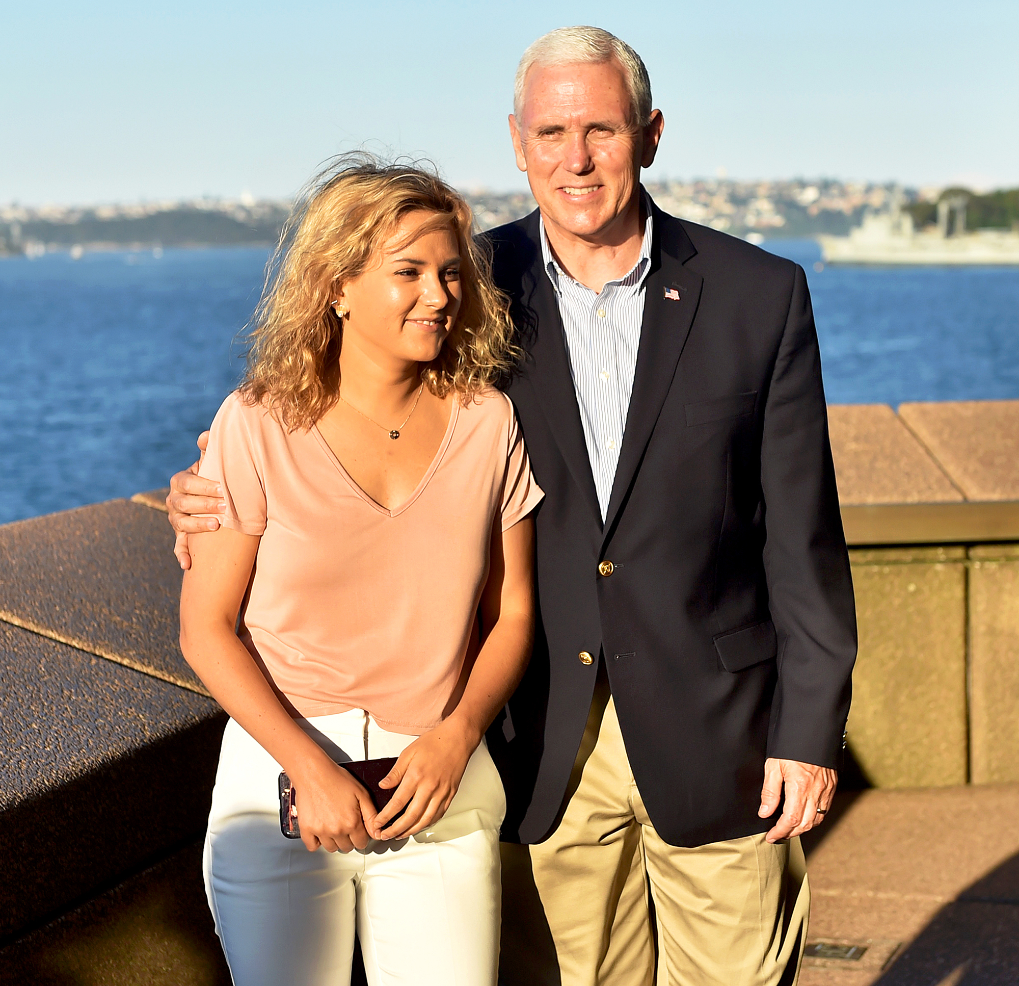 Mike Pence and Charlotte Pence