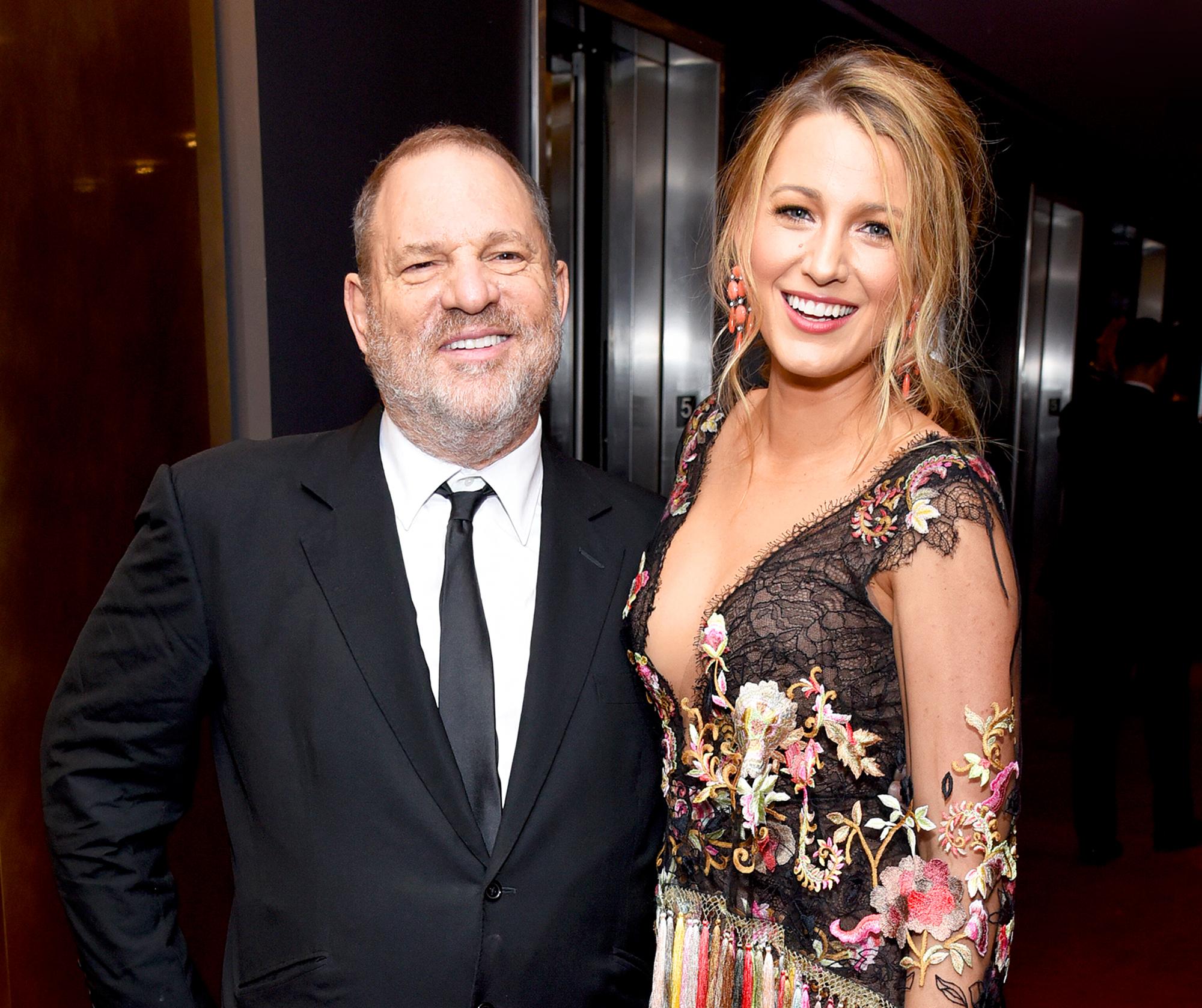 Harvey Weinstein and Blake Lively