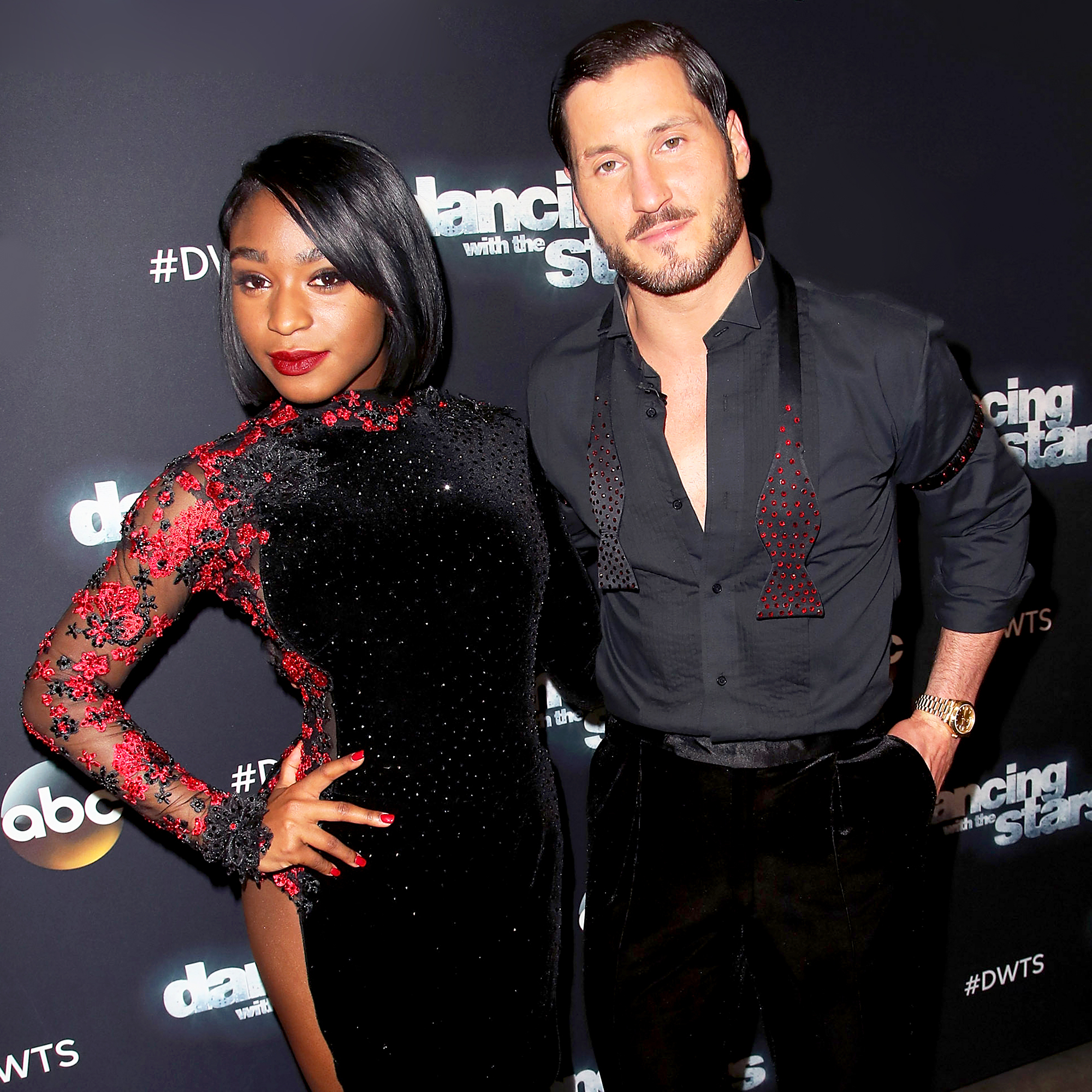 Normani Kordei and Val Chmerkovskiy