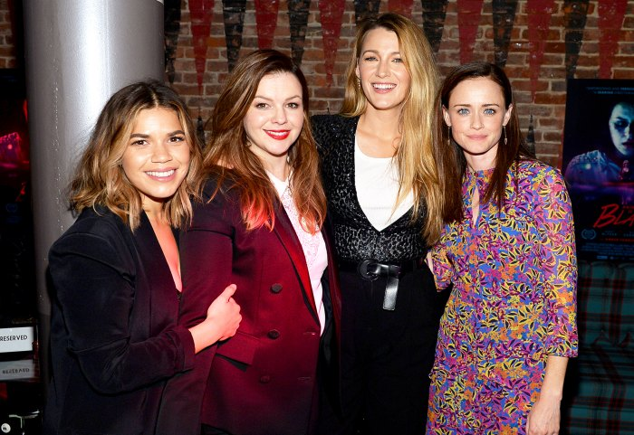 America Ferrera, Amber Tamblyn, Blake Lively and Alexis Bledel