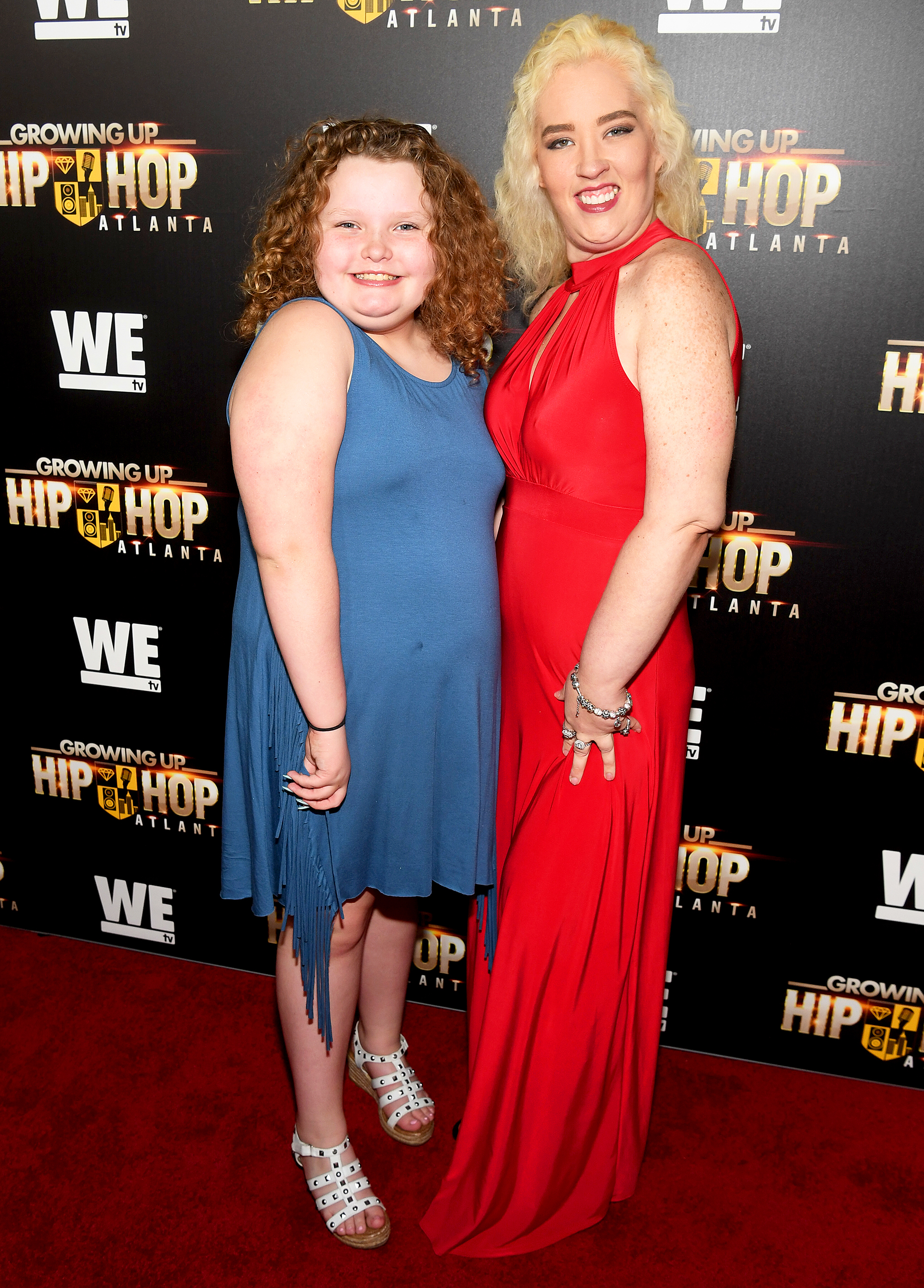 "Mama June Shannon and daughter Alana ""Honey Boo Boo"" Thompson"