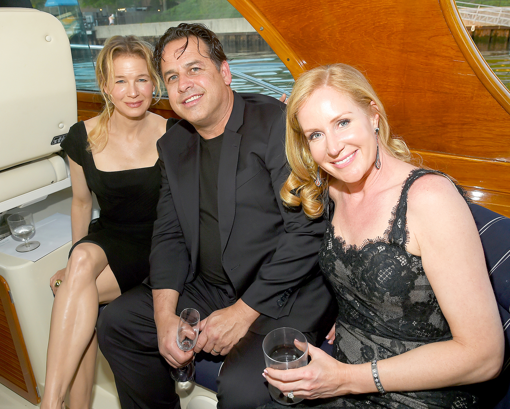 Renee Zellweger, Drew and Colleen deVeer