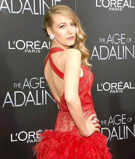 Blake Lively - Age of Adaline premiere