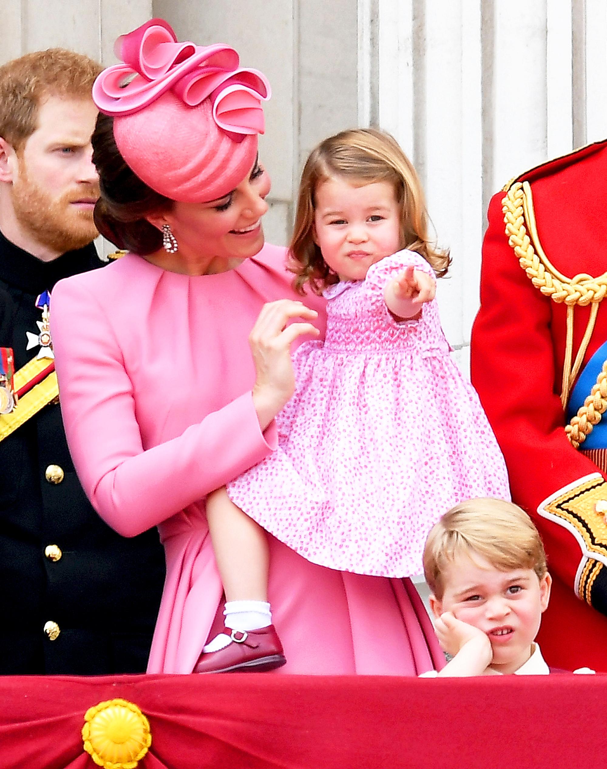 Kate middleton daughter pics