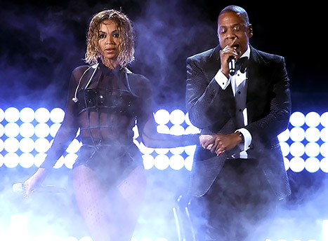 beyonce and jay-z performance