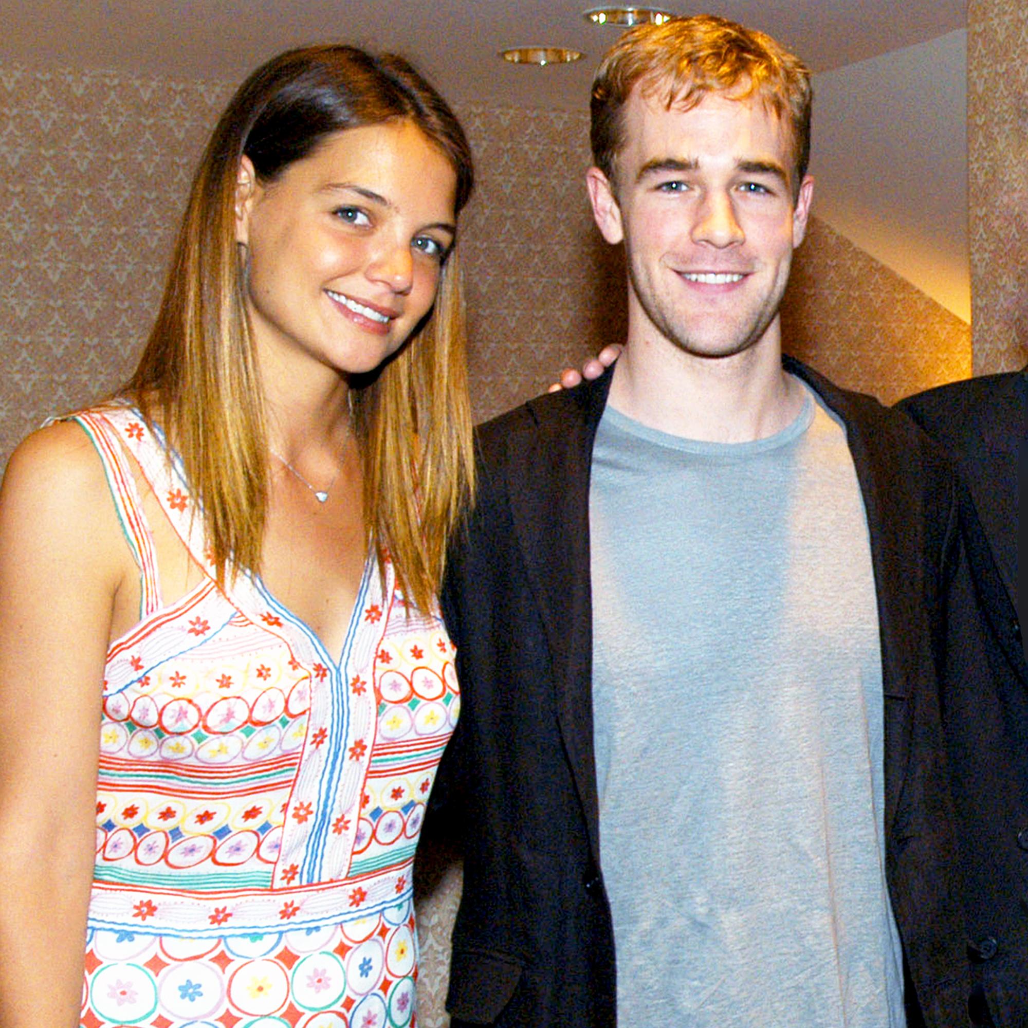 Katie Holmes and James Van Der Beek