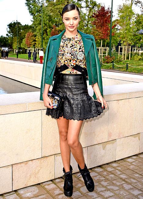 Miranda Kerr - green