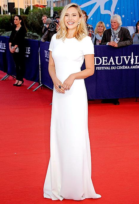 Elizabeth Olsen - white