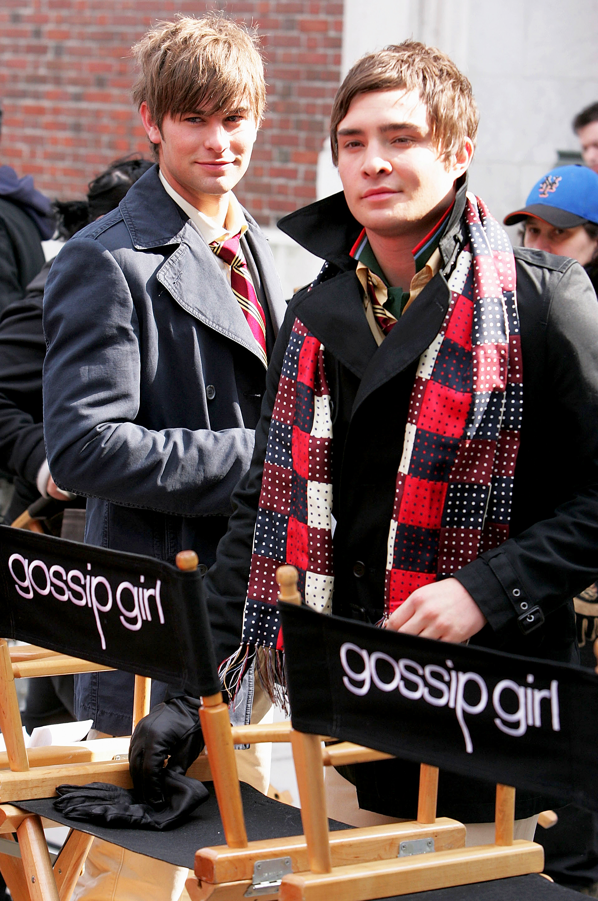 Chace Crawford and Ed Westwick Gossip Girl