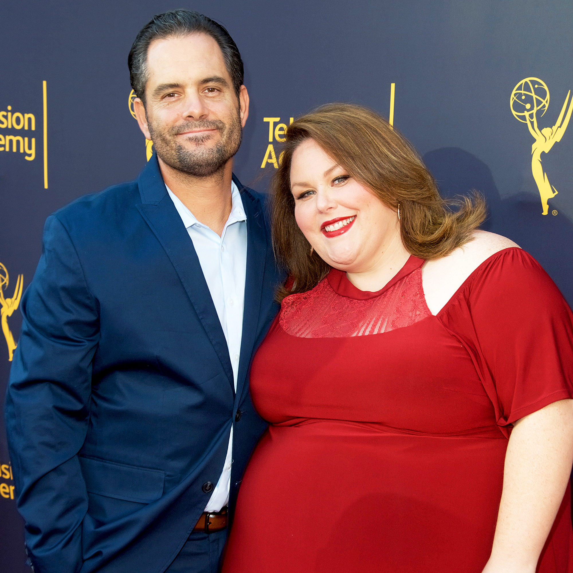 Chrissy Metz and Josh Stancil