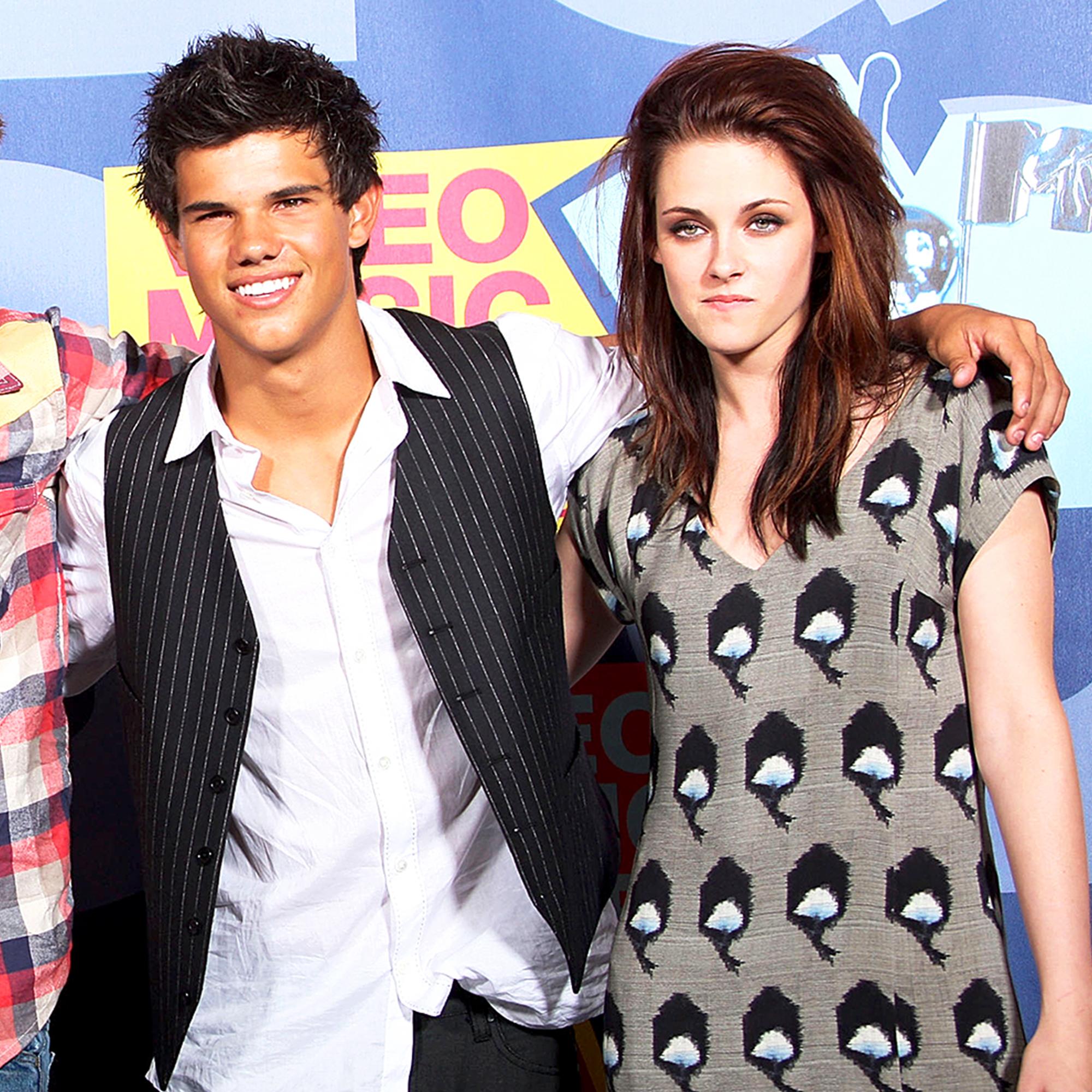 Taylor Lautner and Kirsten Stewart