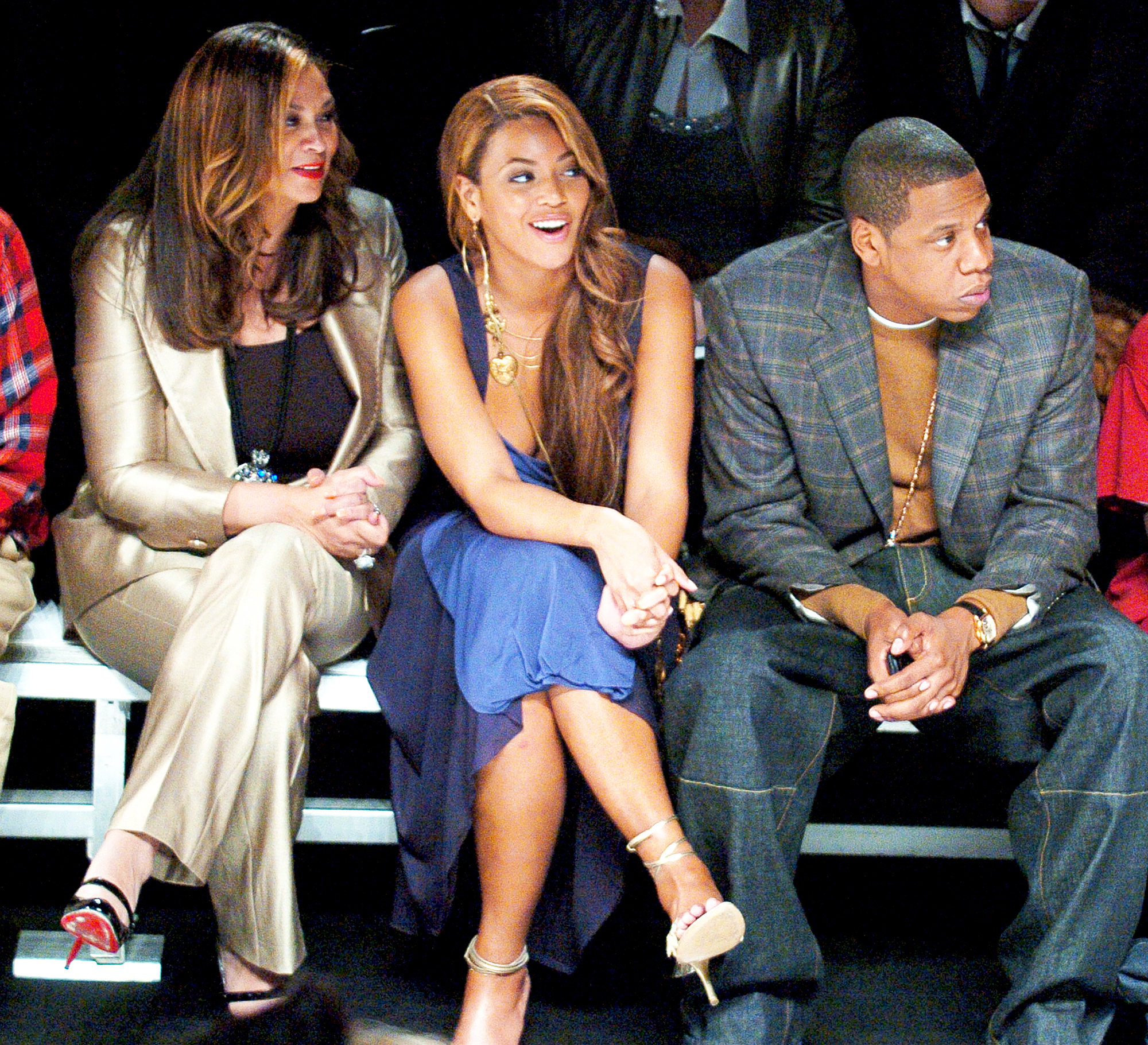 Tina Knowles Beyonce And Jay Z
