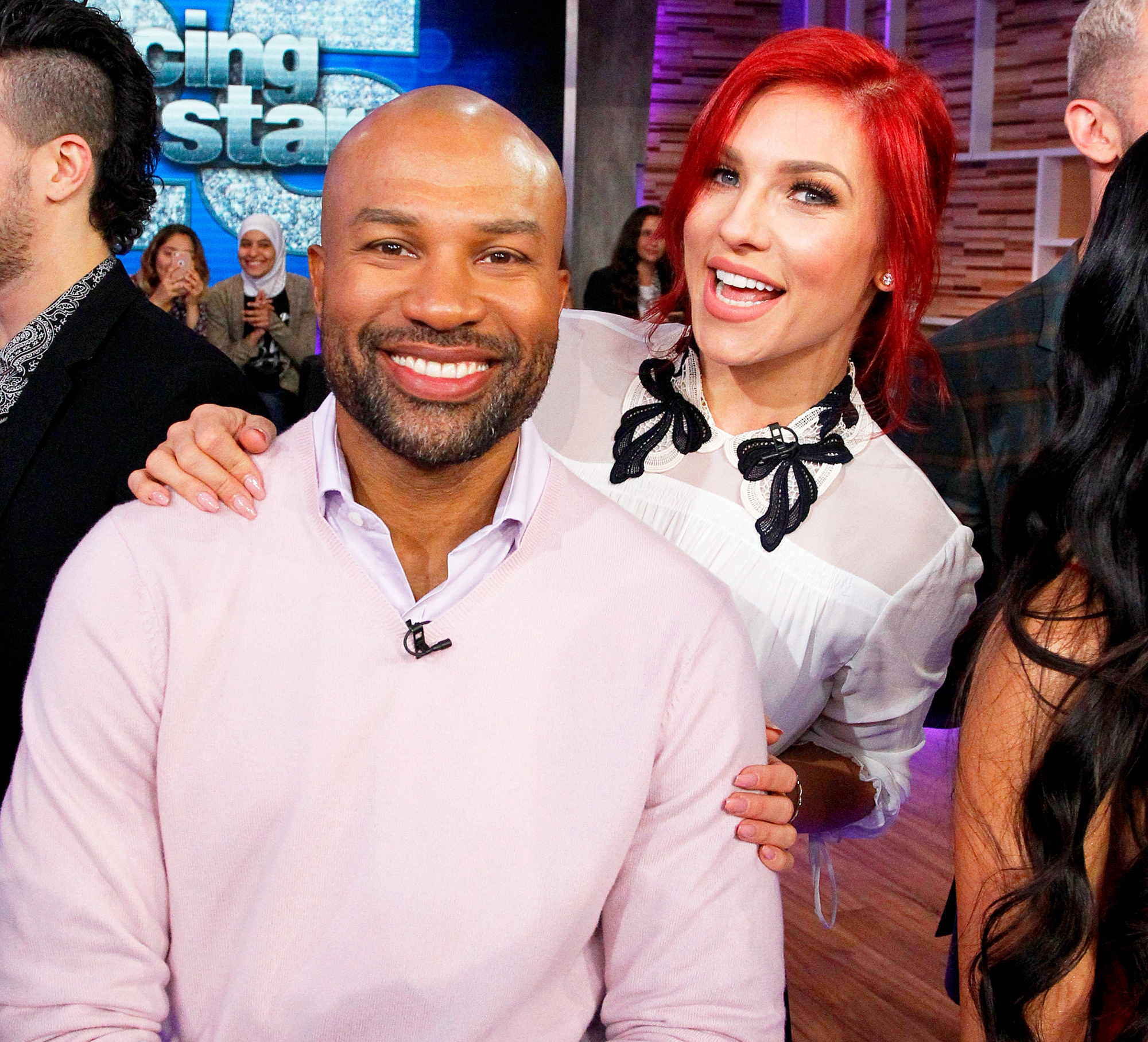 Sharna Burgess and Derek Fisher Dancing With The Stars