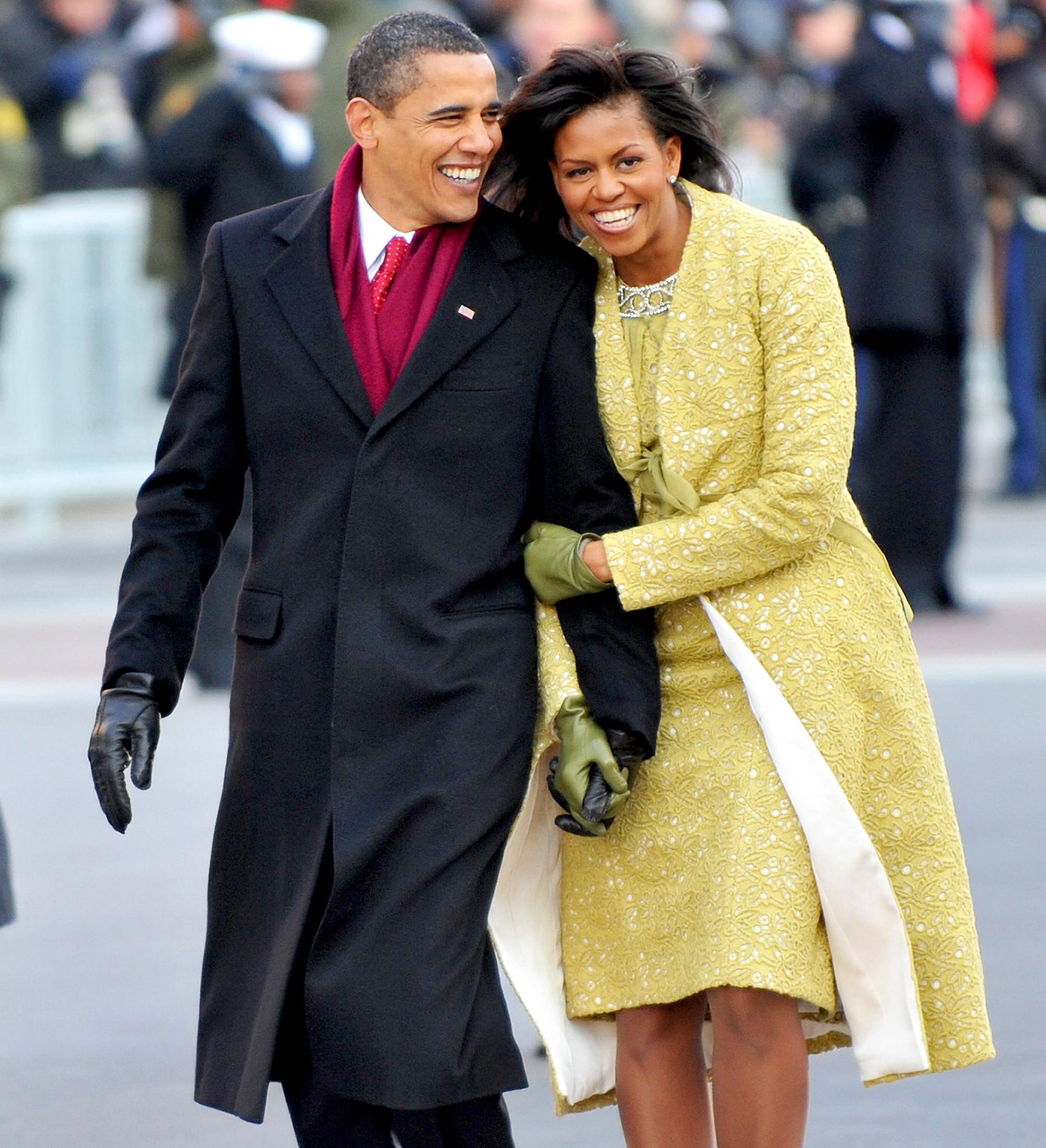 Barack Obama and Michelle Obama