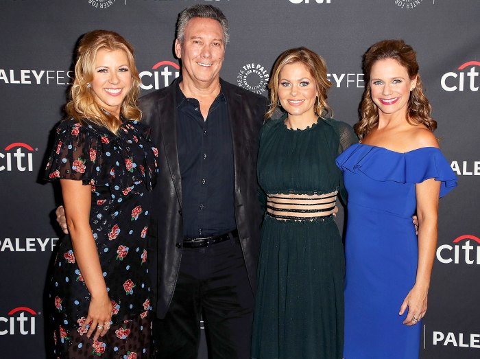 Jodie Sweetin, Jeff Franklin, Candace Cameron-Bure and Andrea Barber