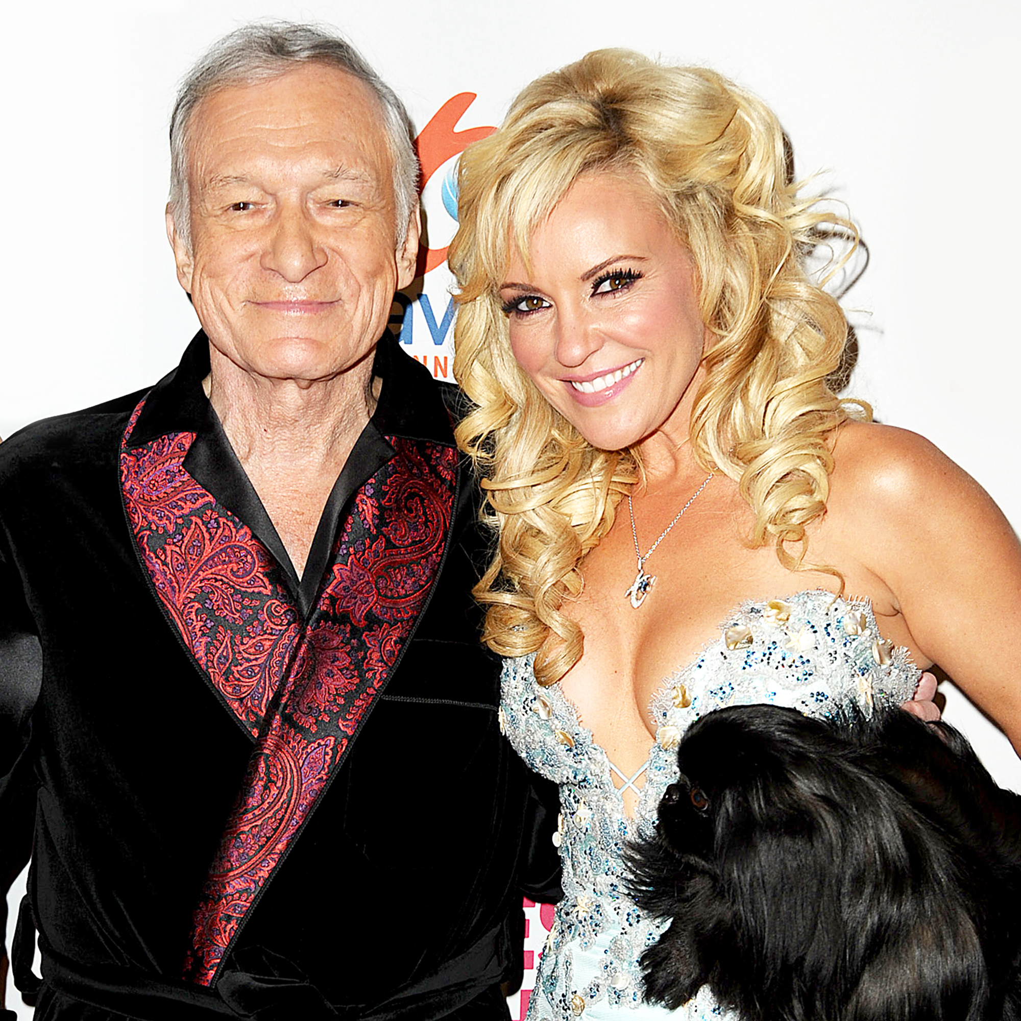 Hugh Hefner and Bridget Marquardt