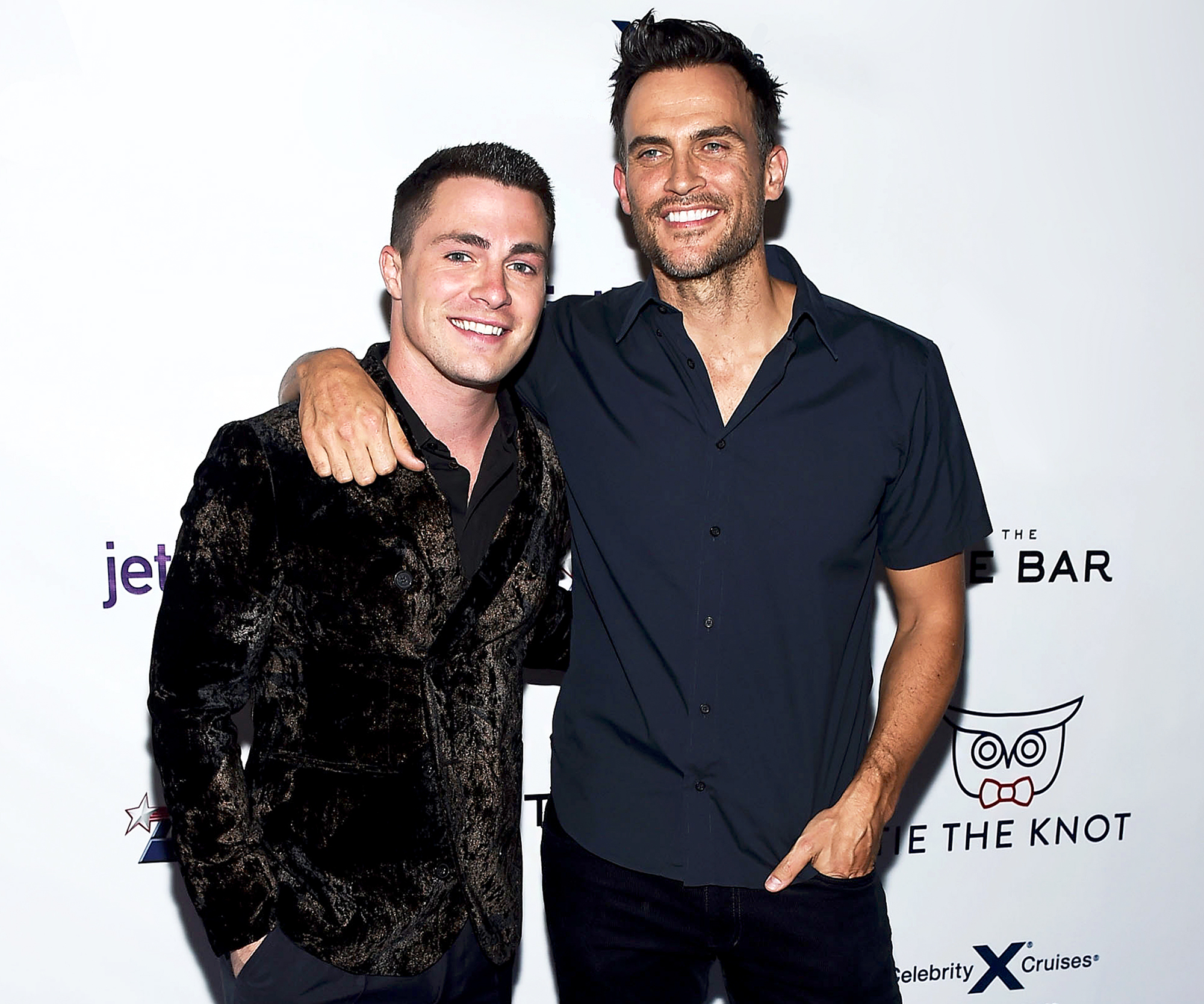 Colton Haynes and Cheyenne Jackson