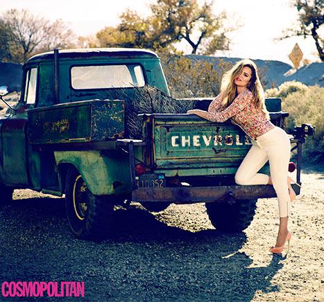 Khloe Kardashian UK cosmo