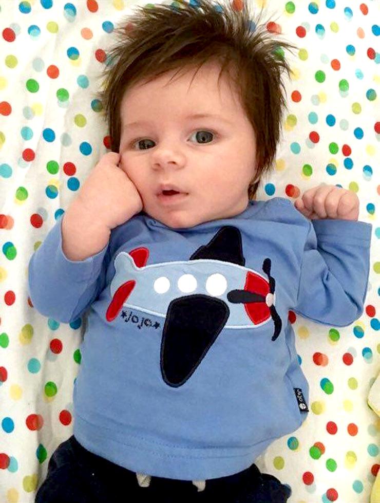 Jesse at seven weeks.