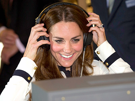 Kate Middleton - morse code