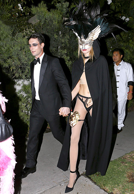 Adam Levine and Behati Prinsloo Halloween