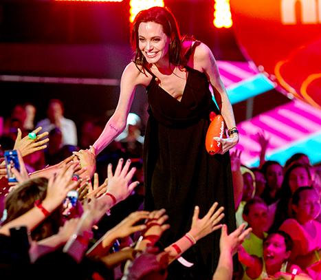 Angelina and KCA audience