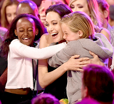 Angelina KCA with daughters