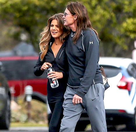 Bruce Jenner and Khloe