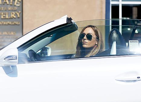 Christine Ouzounian driving