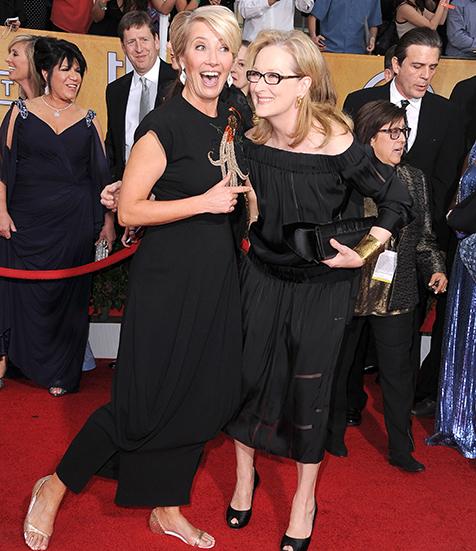 Emma Thompson & Meryl Streep