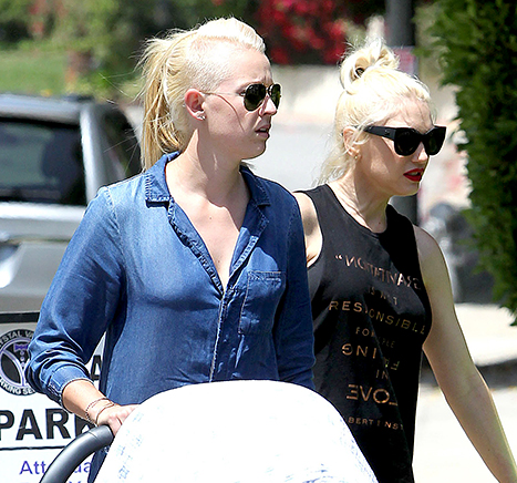 Gwen Stefani and Nanny