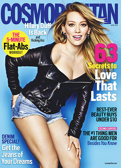 Hilary Duff Cosmopolitan Cover