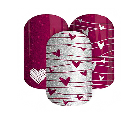 V-Day Manis JamBerryNails