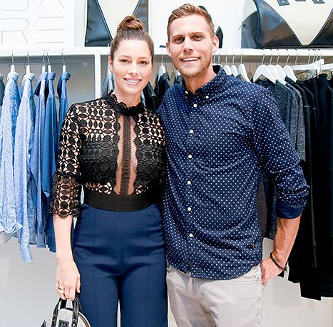 Jessica Biel and Justin Biel