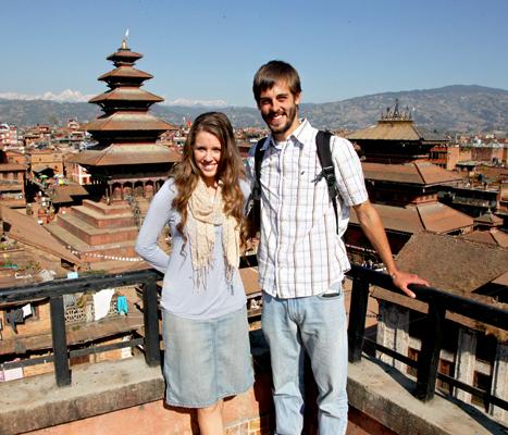 Jill Duggar and Derick Dillard Nepal