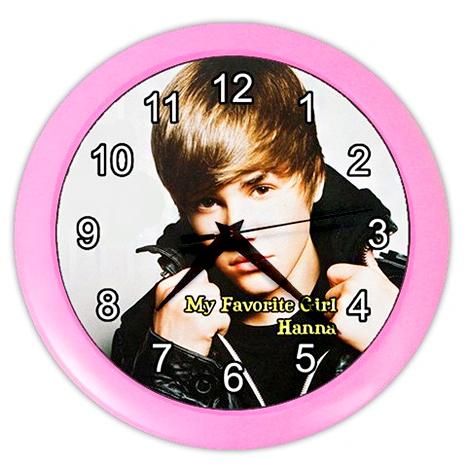 Justin Bieber Clock