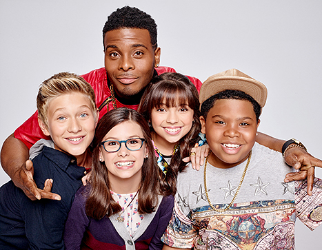 cast of Game Shakers