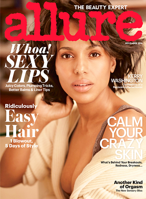 Kerry Washington Allure Cover