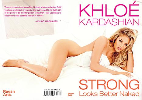 Khloe Kardashian full book cover