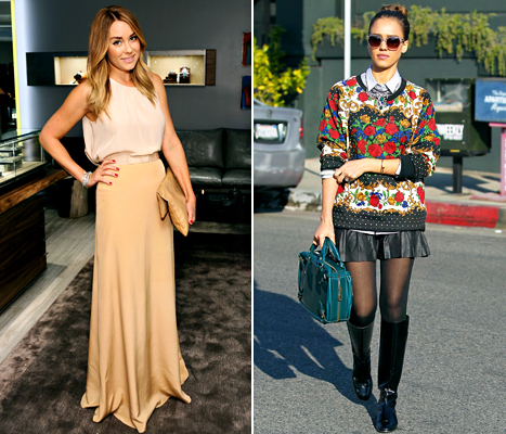Lauren Conrad and Jessica Alba Get Their Look for Under $50