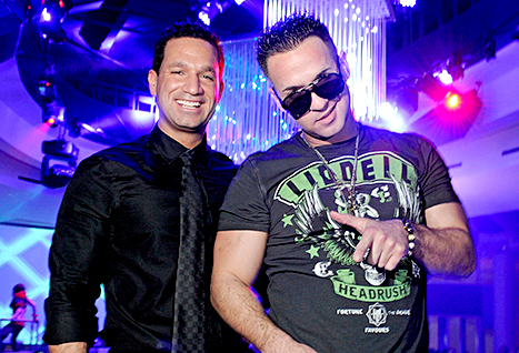Mike Sorrentino and brother