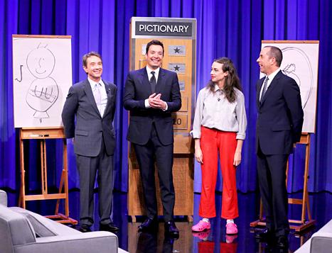 Martin Short, Jimmy Fallon, Miranda Sings and Jerry Seinfeld
