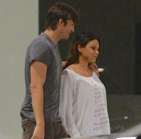 Ashton Kutcher & Mila