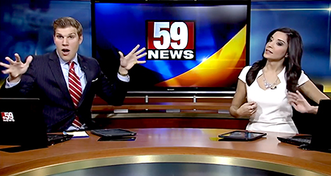 News Anchor dance