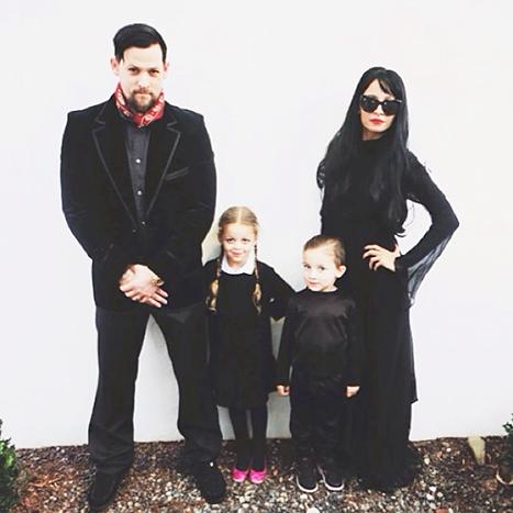 Halloween Kid Costumes - Nicole Richie and Joel Madden
