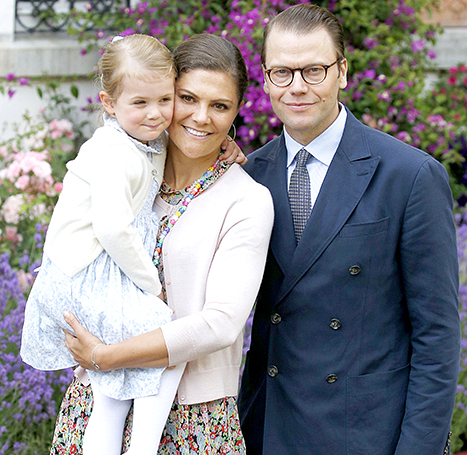 Princess Estelle and family